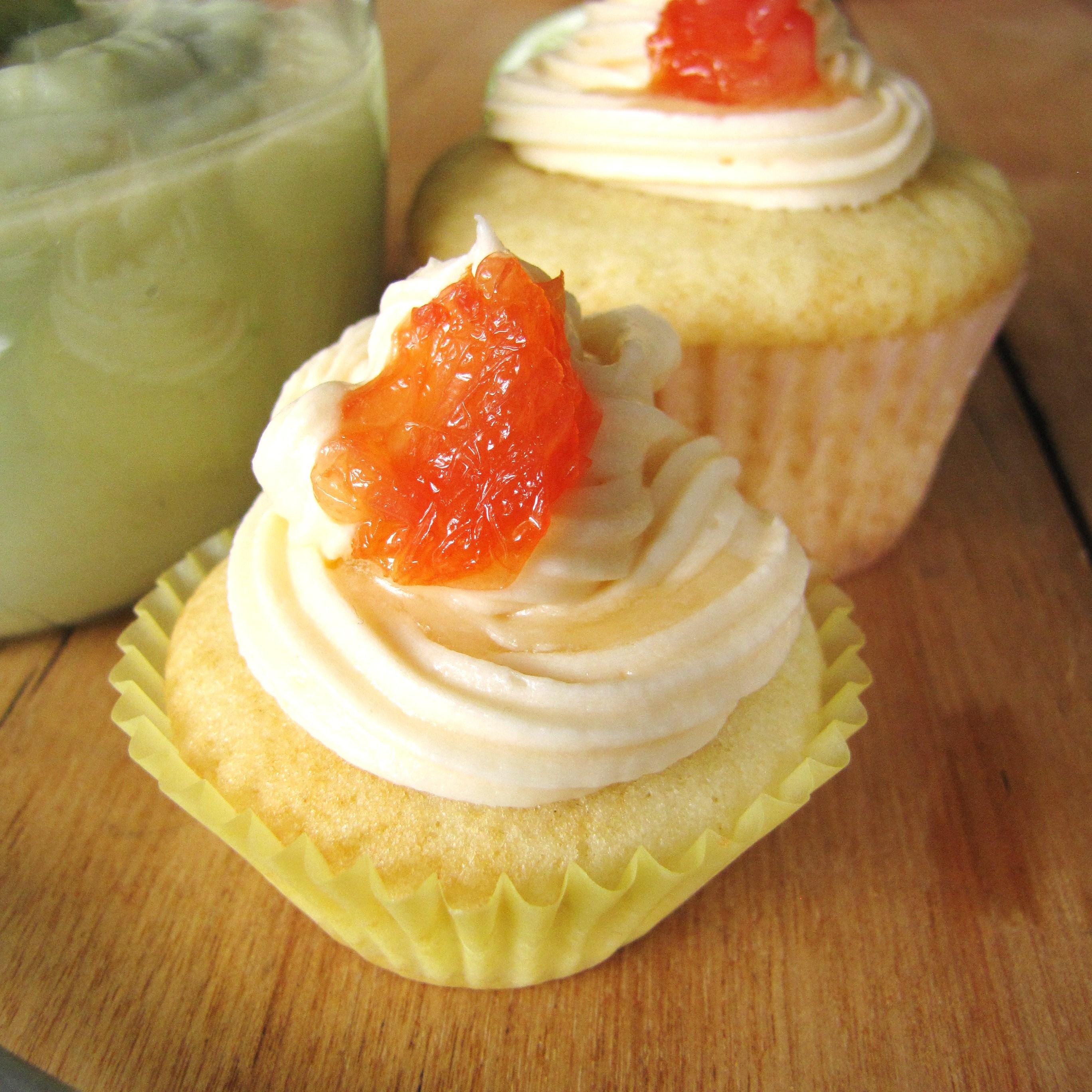 Grapefruit Buttercream
