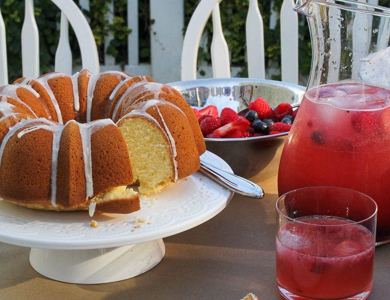 One-Bowl Lemon Pound Cake