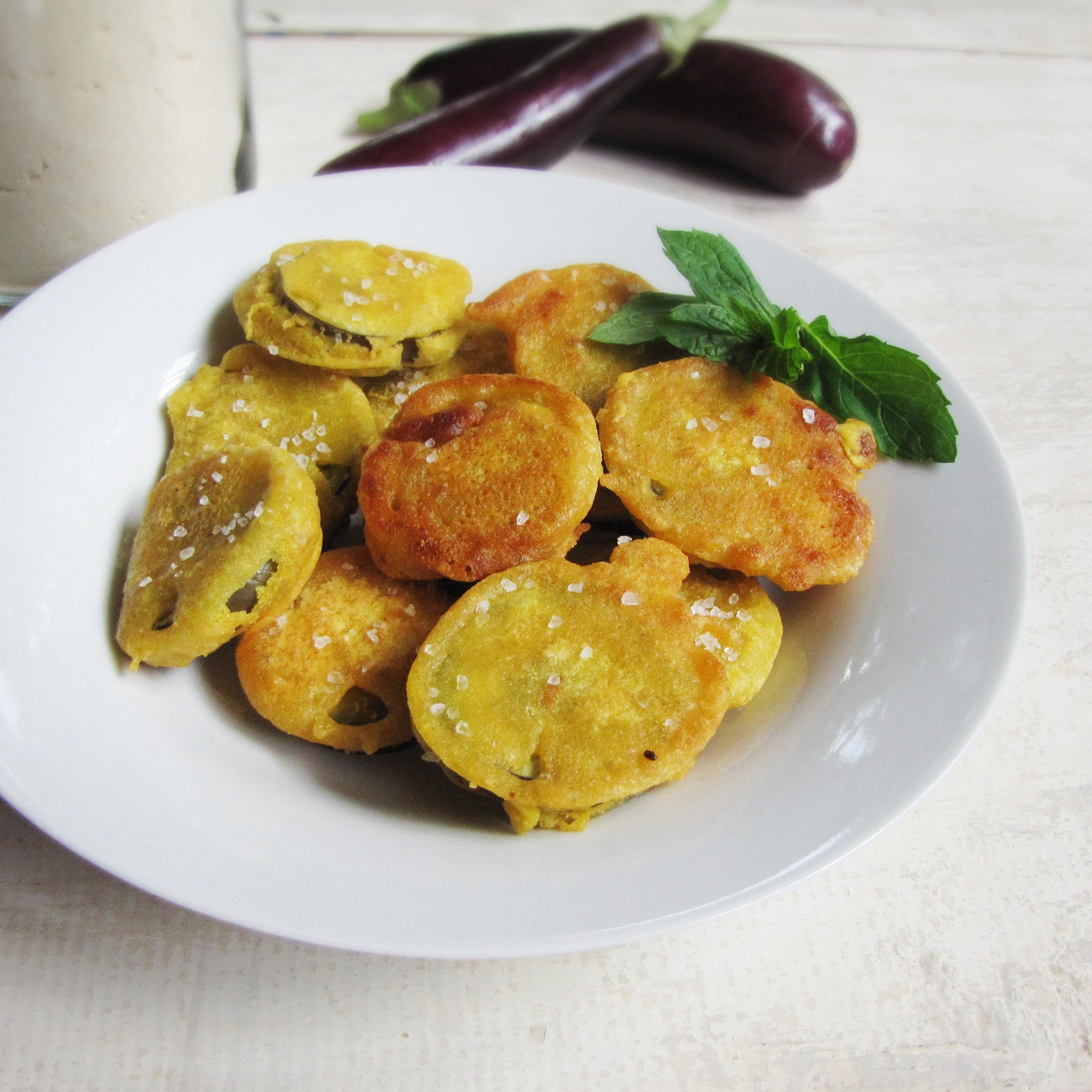 Beguni – Bengali Eggplant Fritters
