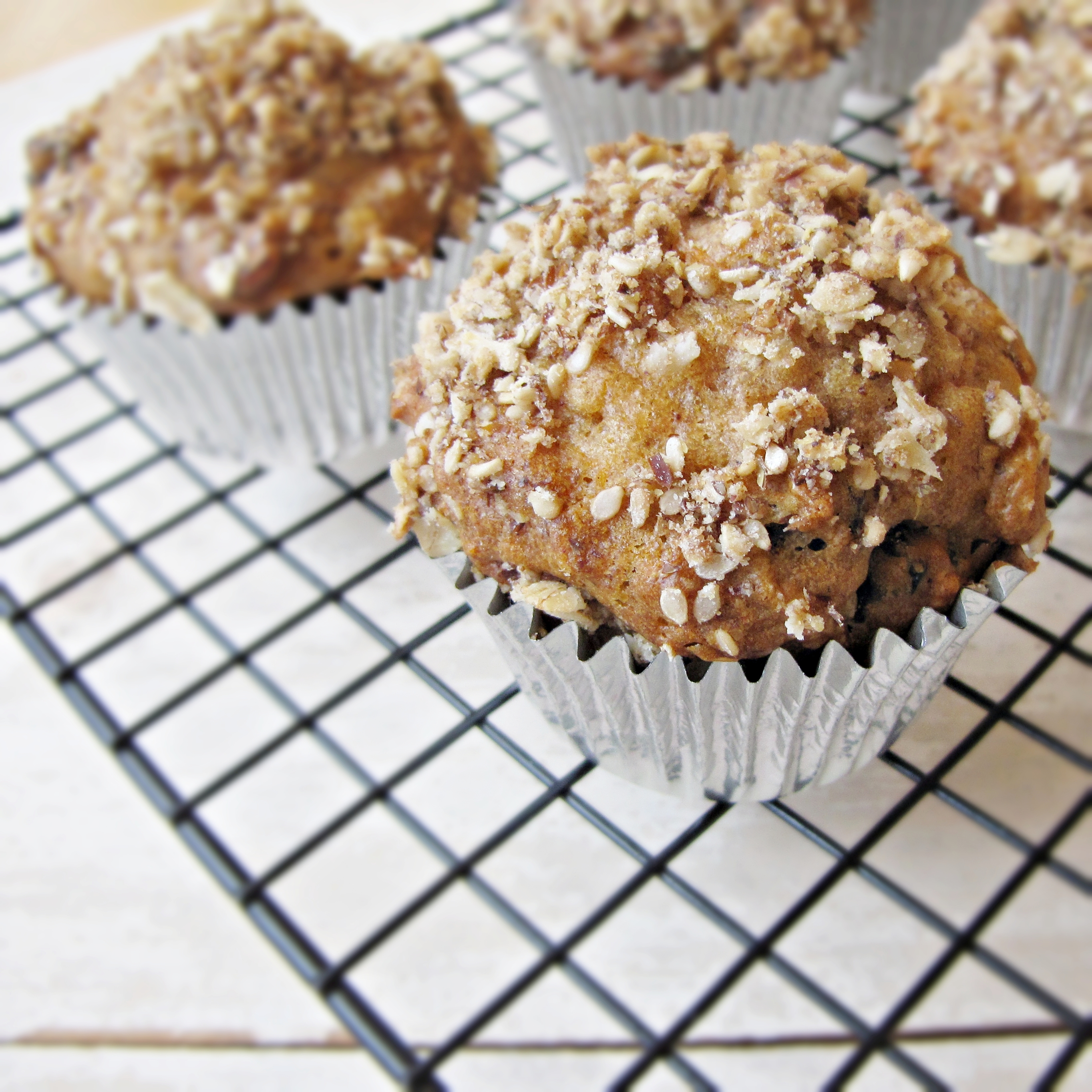 Healthified Carrot and Apple Muffins