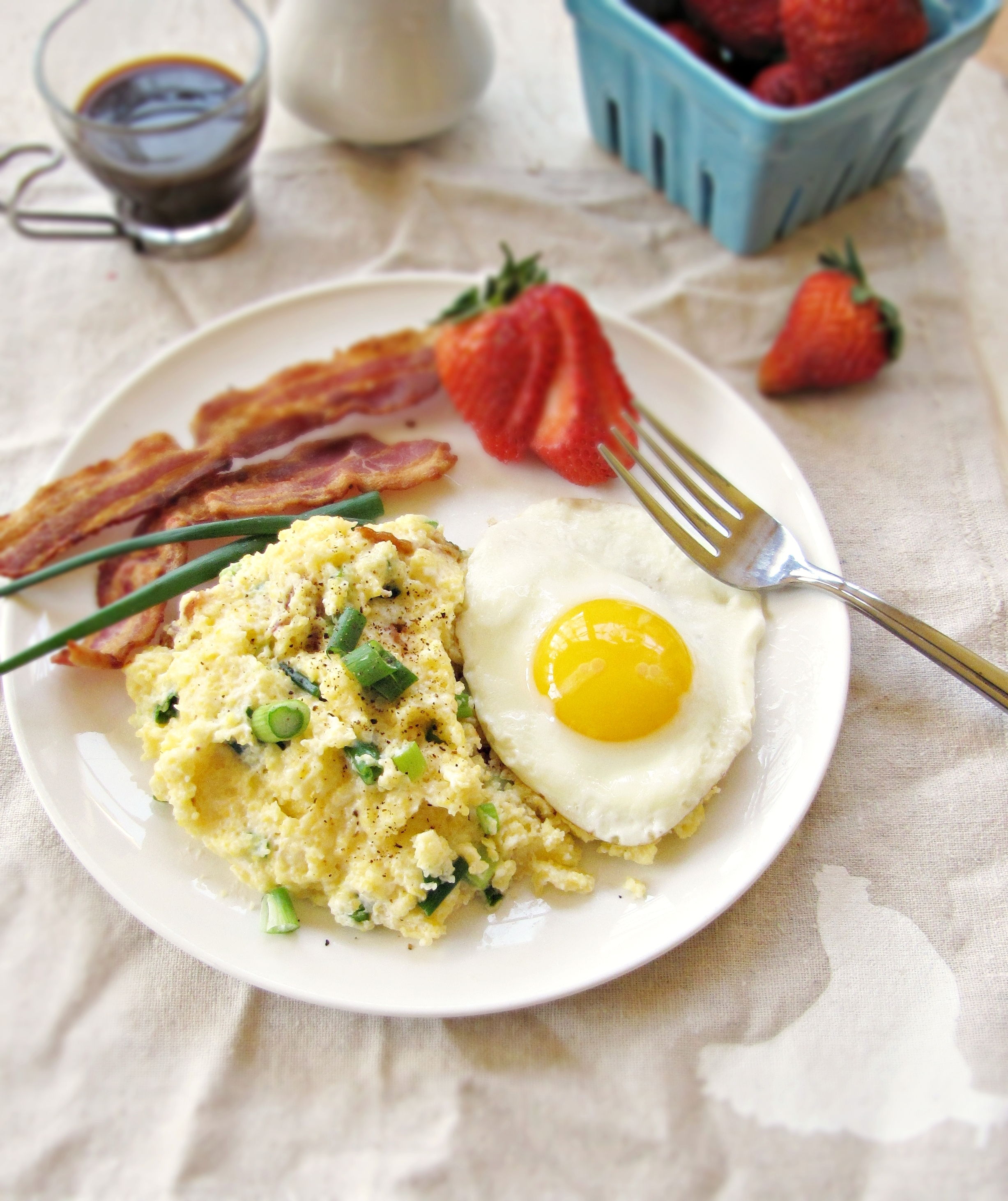 Grits and bacon, anyone? | Katie at the Kitchen Door