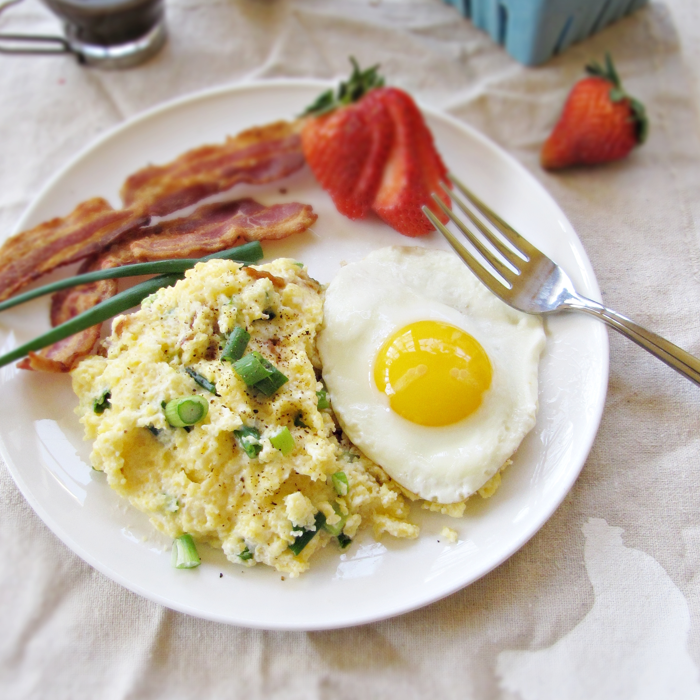 Grits and bacon, anyone?