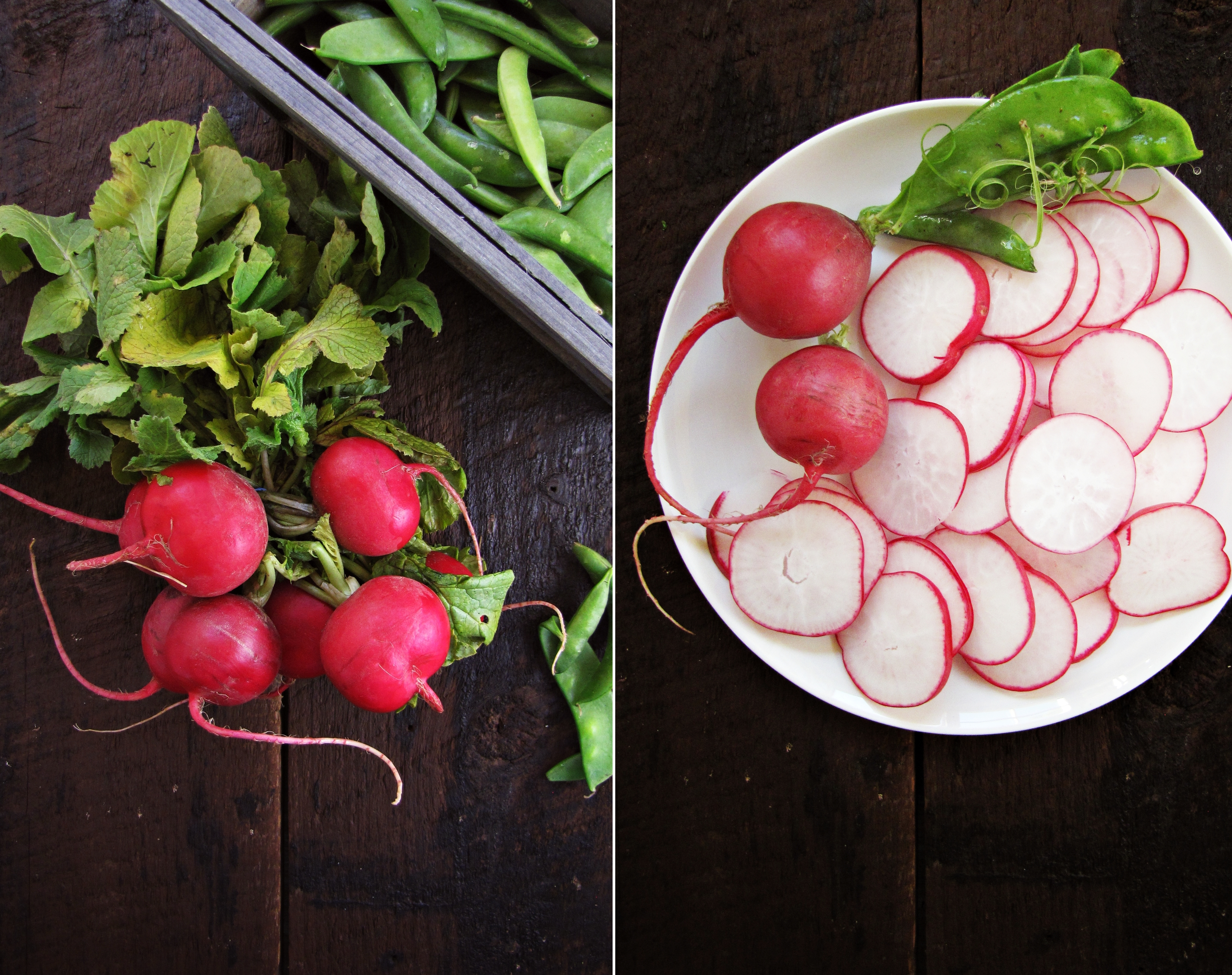 Greatist Collaboration: Fresh Snap Pea and Radish Salad