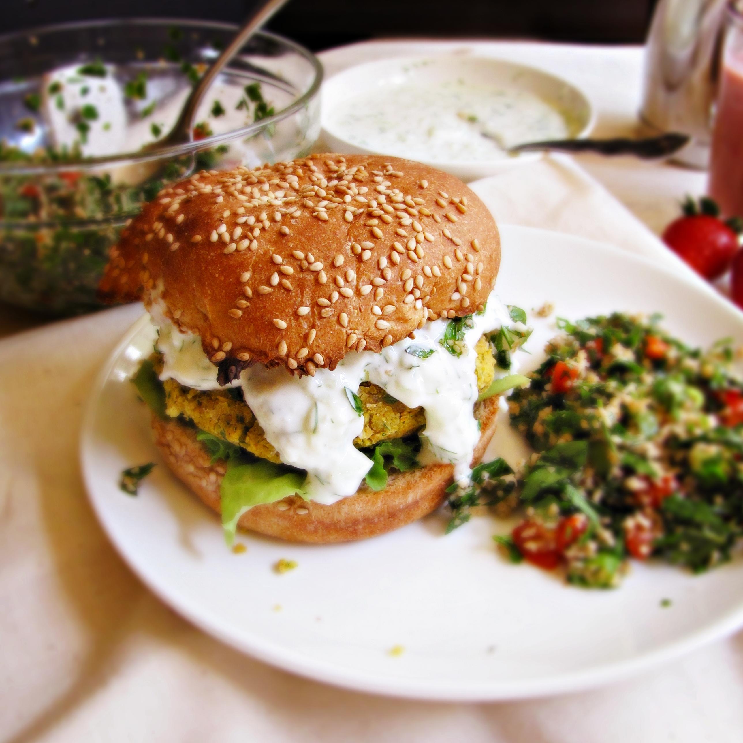 tabbouleh burger recipe tabbouleh burgers food dinner tabbouleh veggie ...