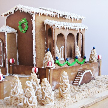 2012 Gingerbread House {Katie at the Kitchen Door}