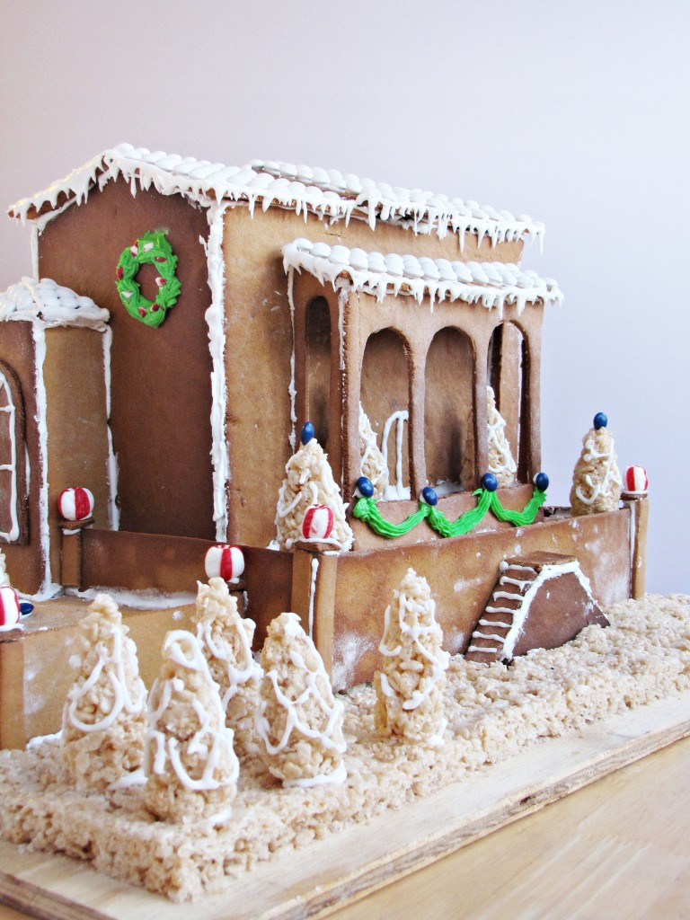 Gingerbread 2012 Italian Country Villa Katie At The