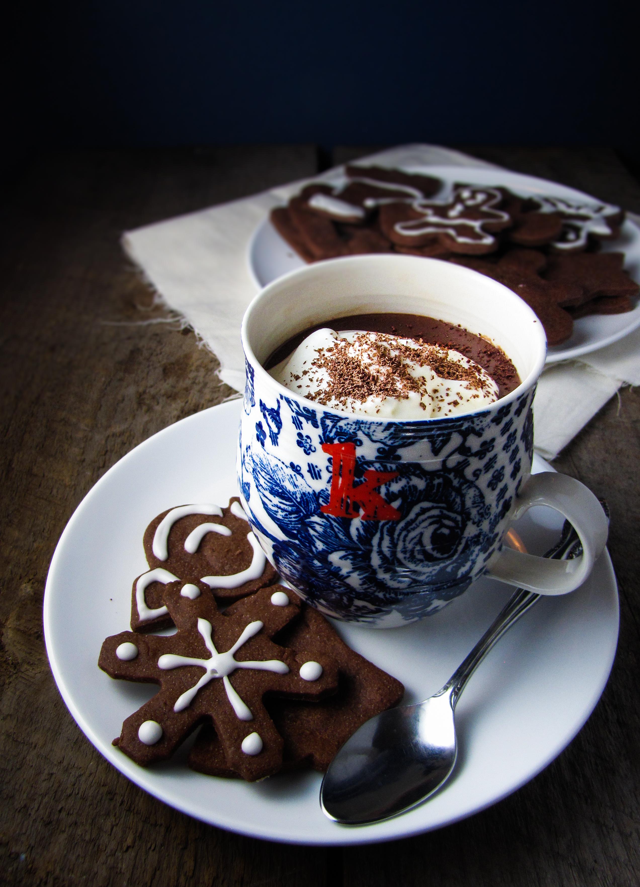European-style Hot Chocolate {Katie at the Kitchen Door}