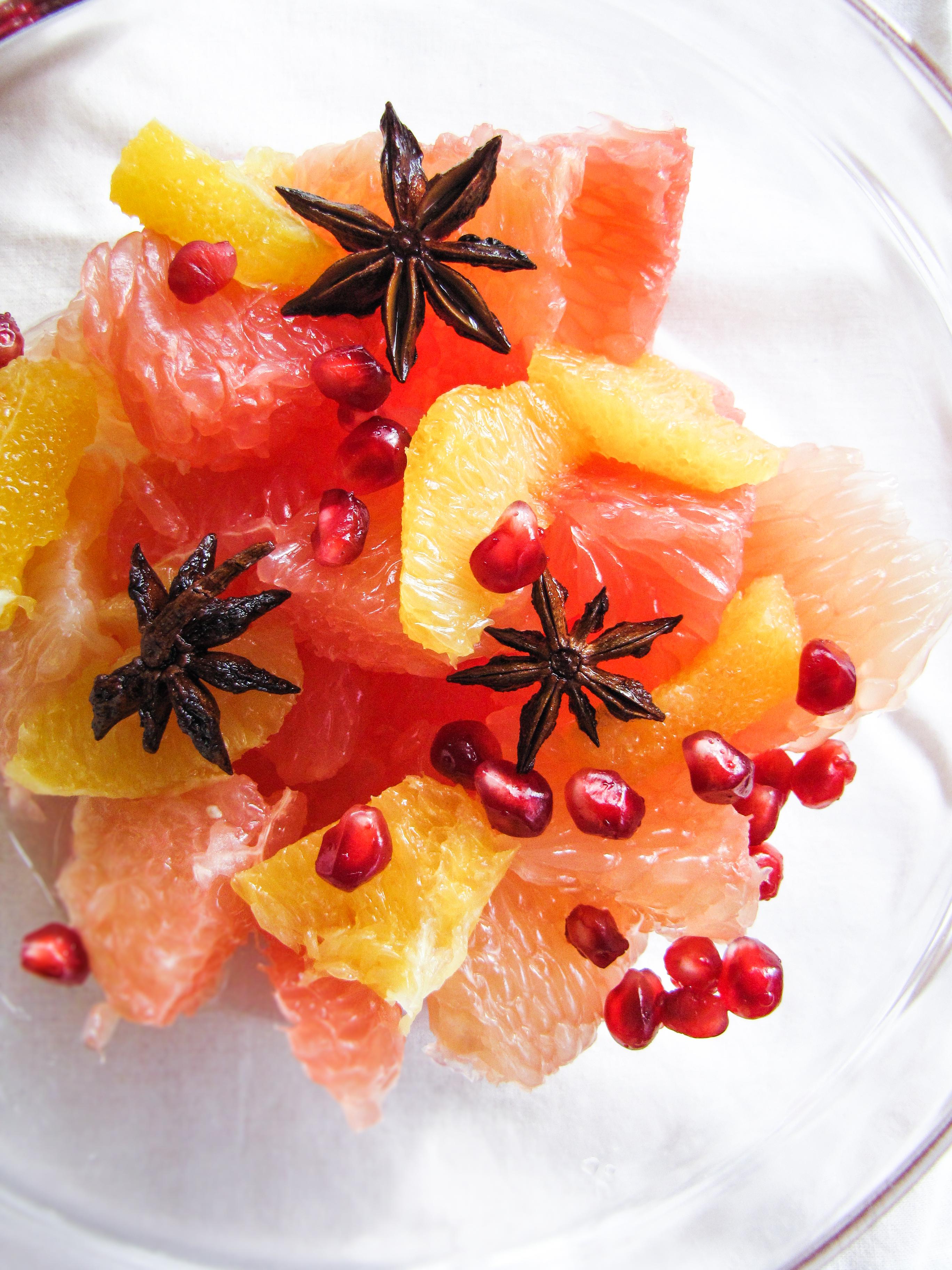 Citrus and Star Anise Salad {Katie at the Kitchen Door}
