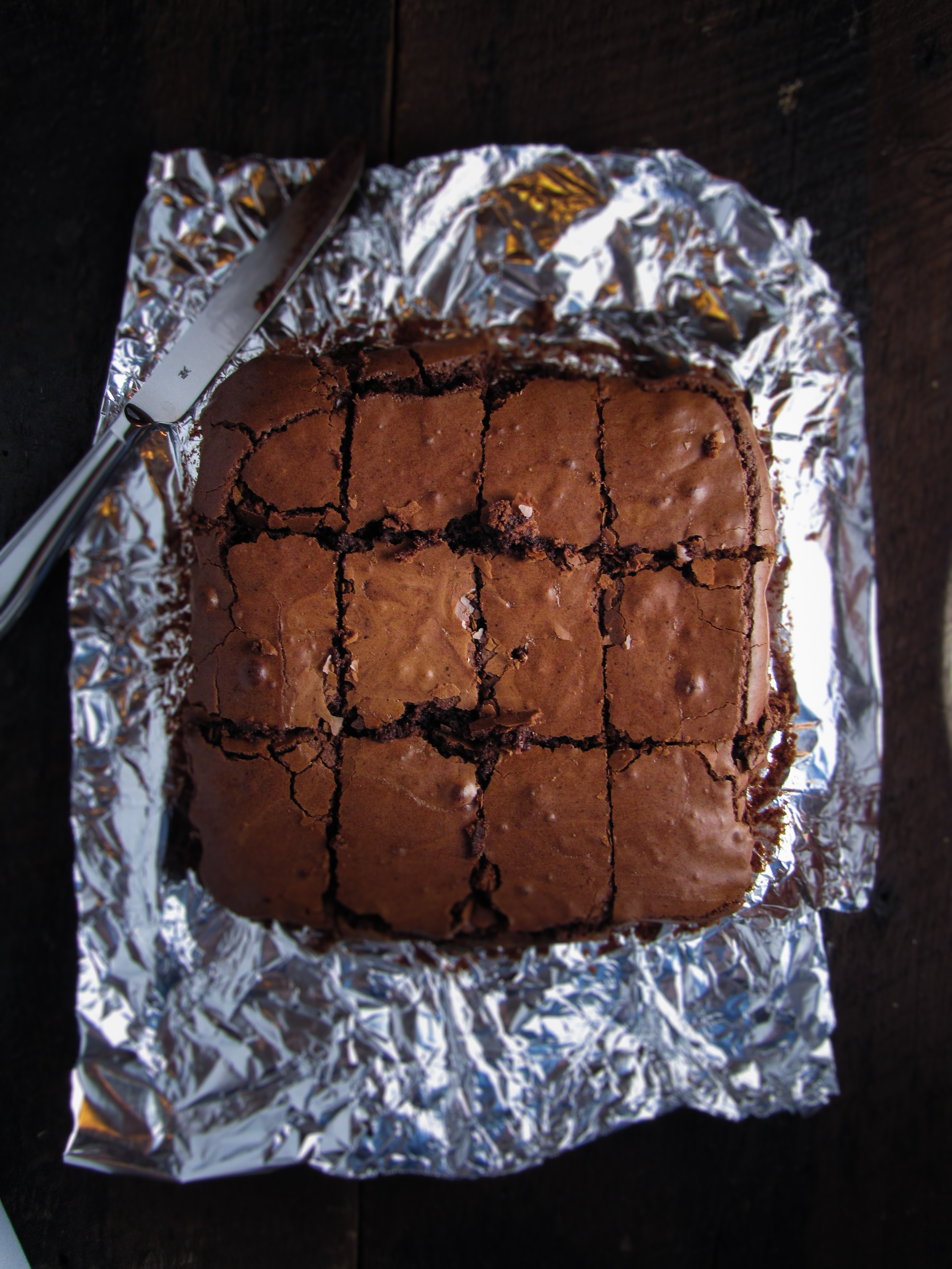 Espresso Brownies {Katie at the Kitchen Door}