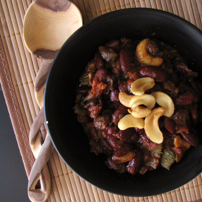 Vegetarian Chili with Beer