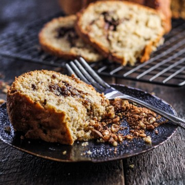 Pecan Toffee Coffee Cake {Katie at the Kitchen Door}