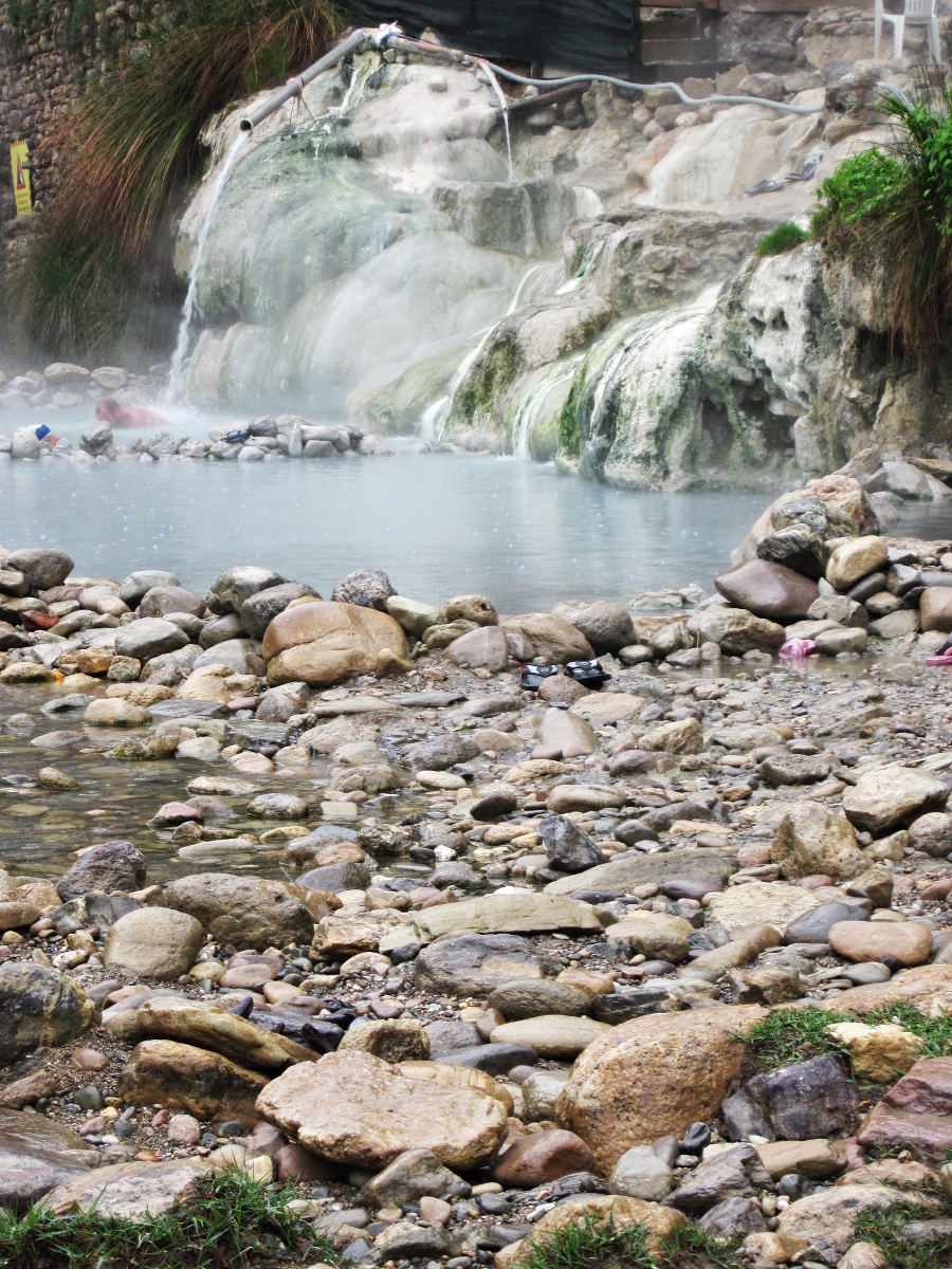 Terme di Petriolo (Natural Hot Springs), Maremma, Italy