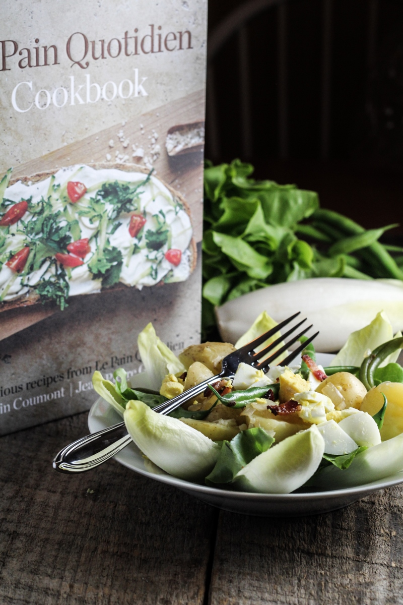Book Club: Le Pain Quotidien // Liegeoise Salad