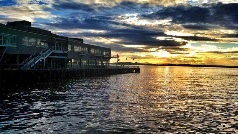 Sunset Run along the Elliott Bay Trail - Seattle {Katie at the Kitchen Door}