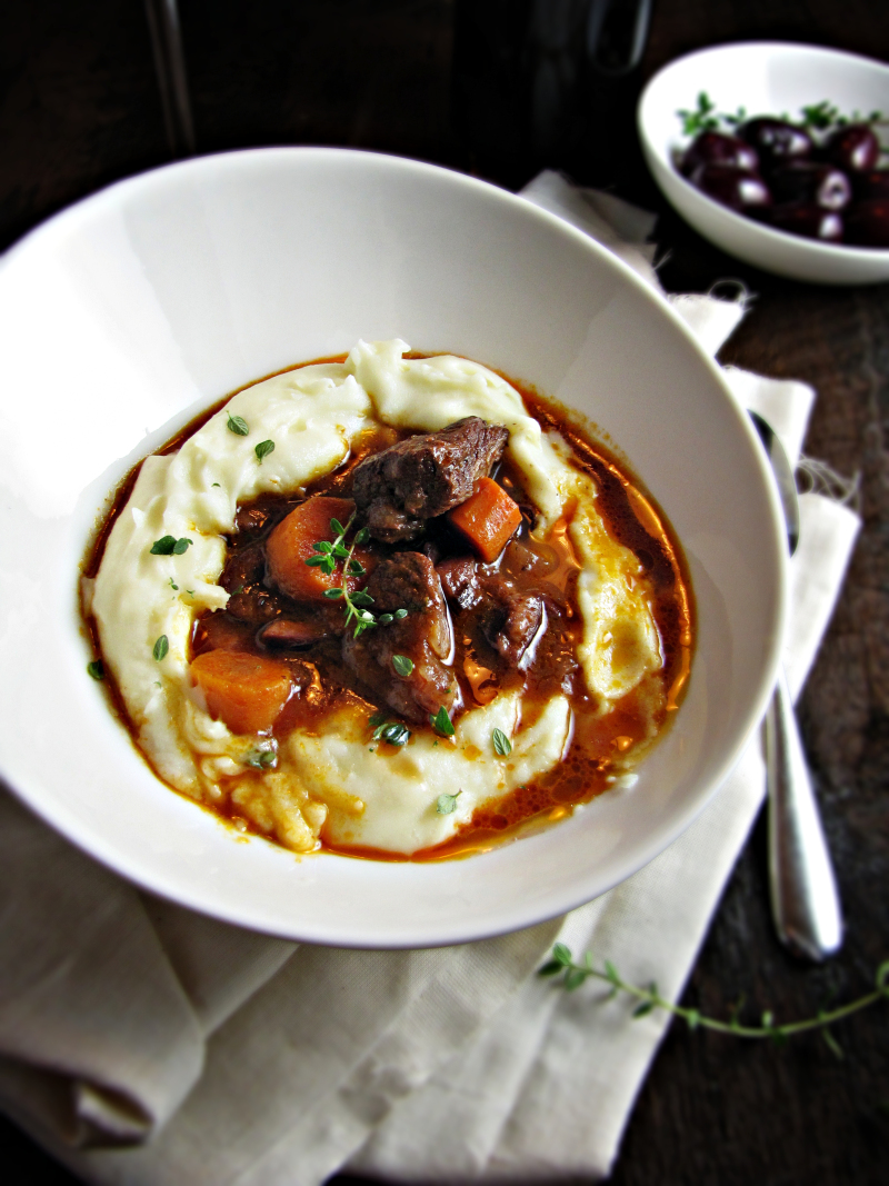 15 Favorite Fall Recipes - French Beef Stew with Red Wine