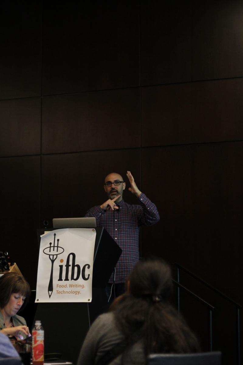 Andrew Scrivani talks at IFBC 2013