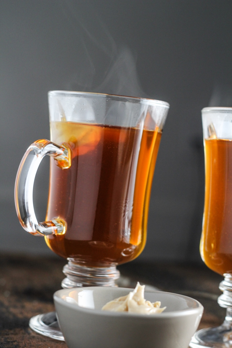 Burnt-Sugar Hot Buttered Rum {Katie at the Kitchen Door}