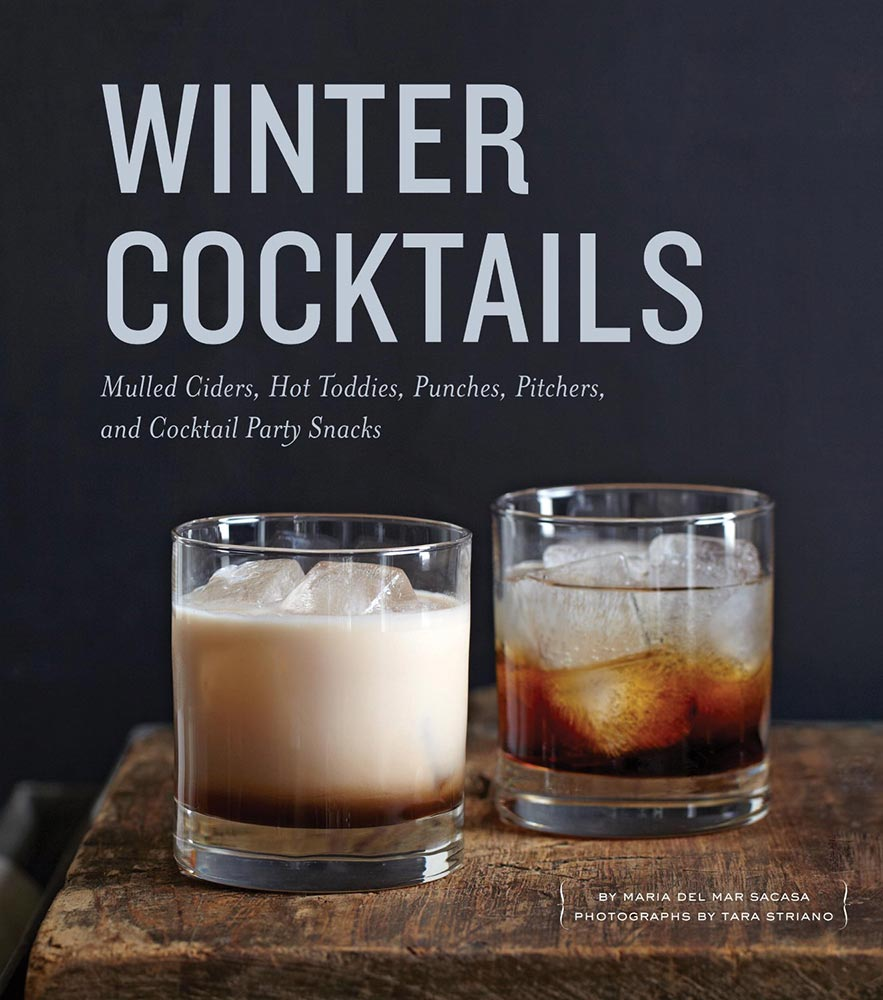 Winter Cocktails #cookbook #giveaway