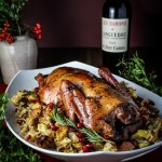 Rum-and-Pomegranate Glazed Duck