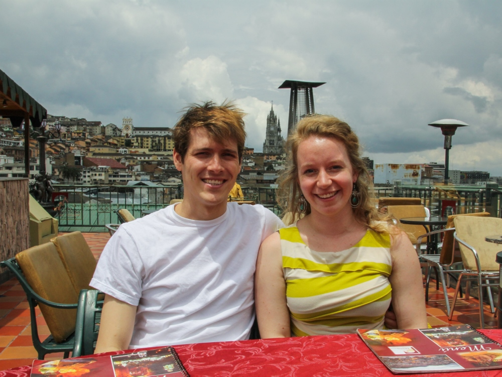 Ecuador Travelogue: Quito - Rooftop Lunch at Vista Hermosa {Katie at the Kitchen Door}