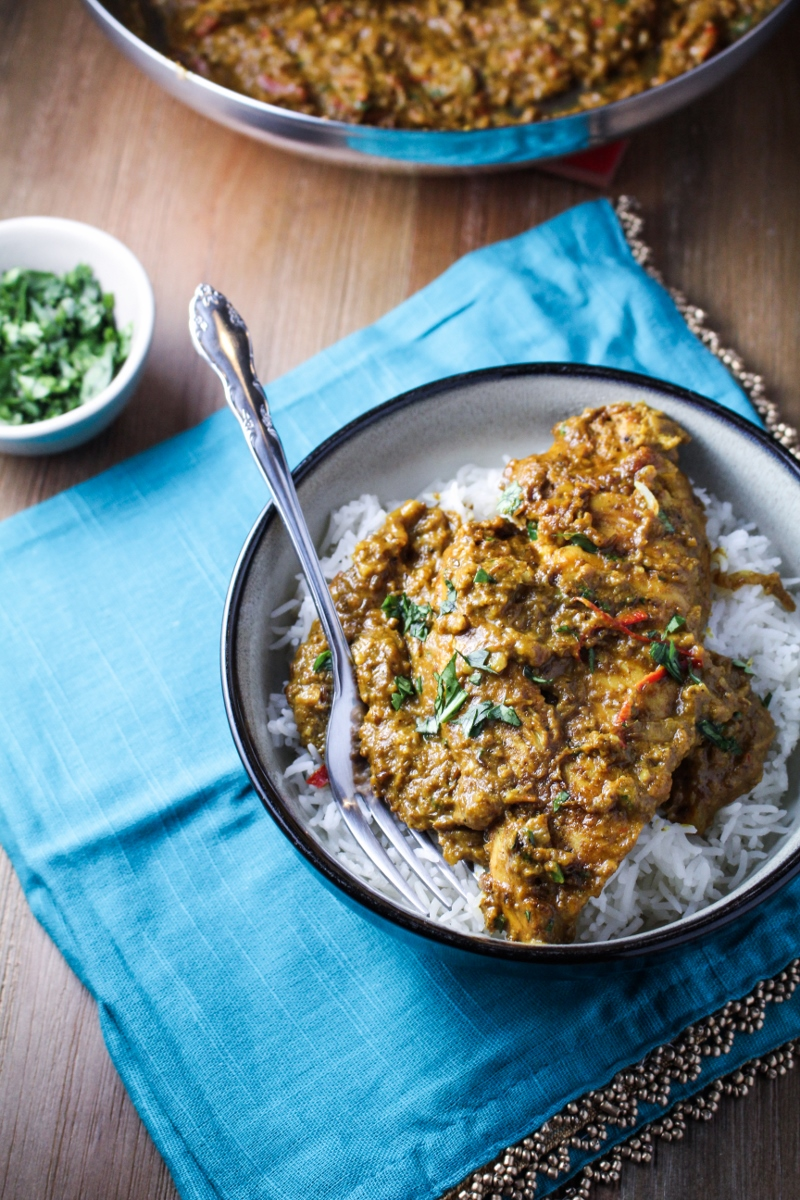 Book Club: Eating with the Chefs // Indian Butter Chicken