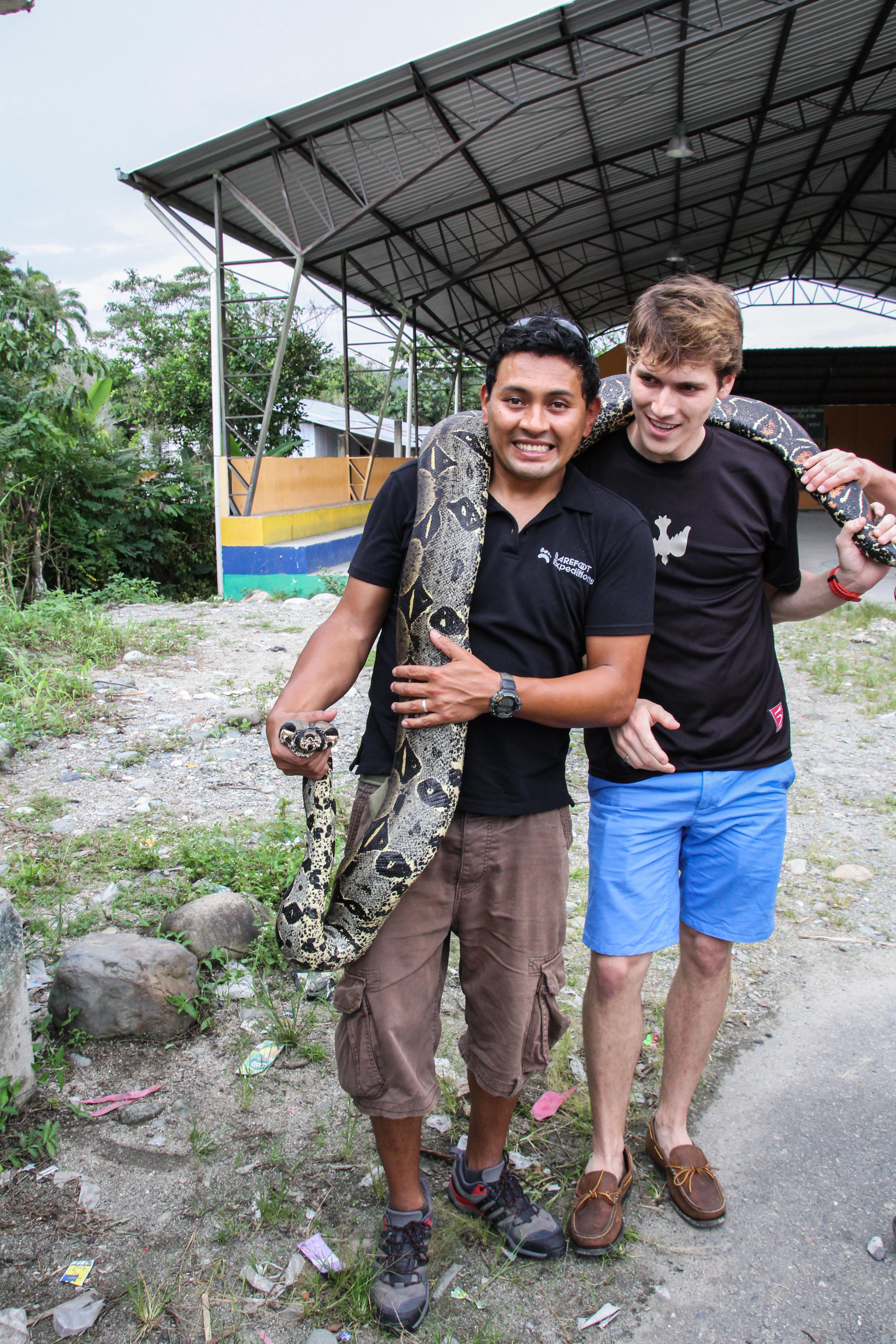 Ecuador Travelogue: The Amazon - Boa
