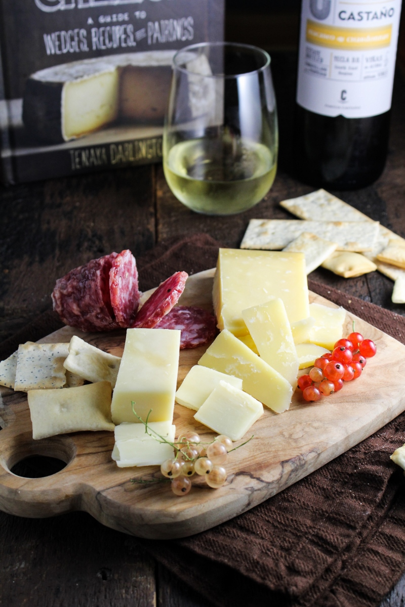 Cheese Plate with Currants {Katie at the Kitchen Door} #houseofcheese