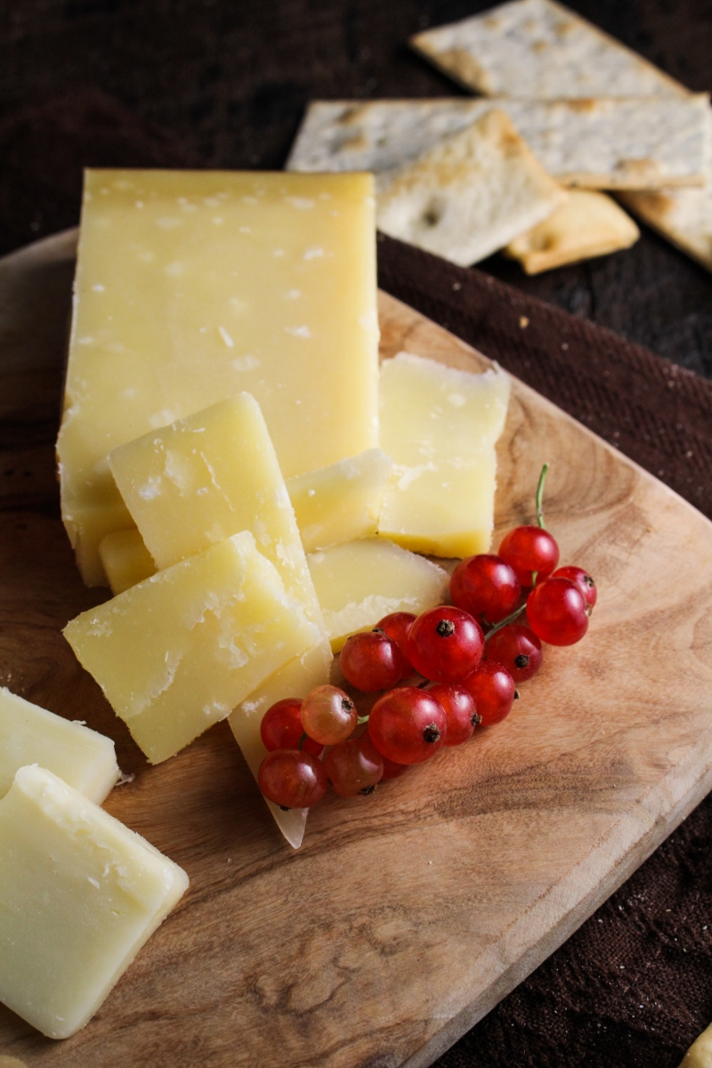 Cheese Plate with Currants {Katie at the Kitchen Door}