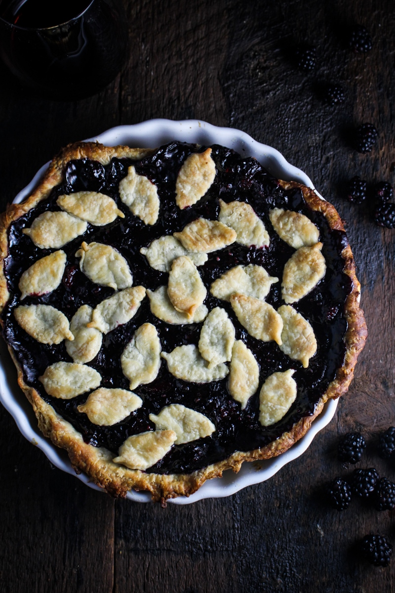 Maple Mixed Berry Pie