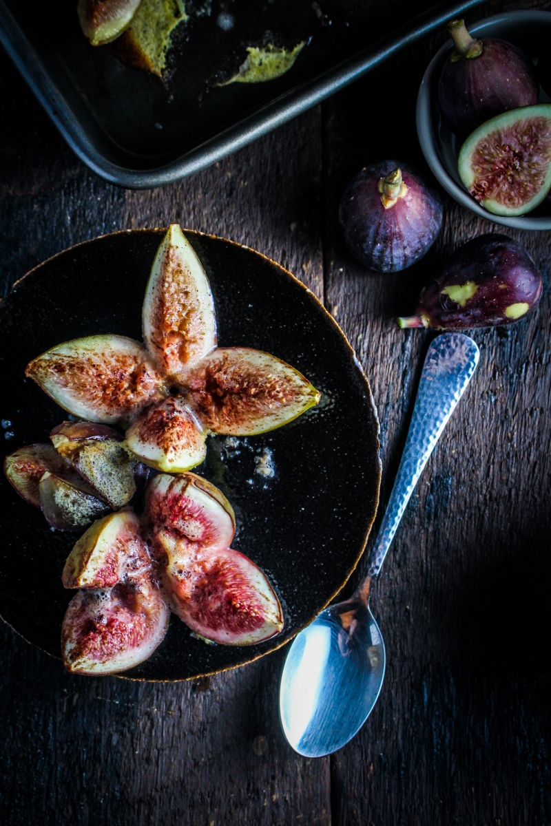 Book Club: Revolutionary French Cooking // Cinnamon and Honey-Baked Figs with Sweet Ginger Slices