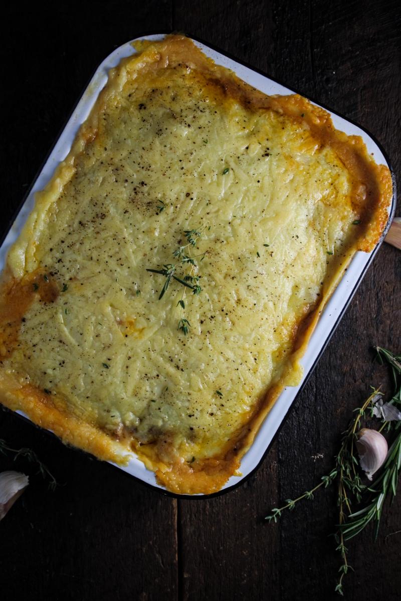 Ratatouille Shepherd's Pie {Katie at the Kitchen Door}