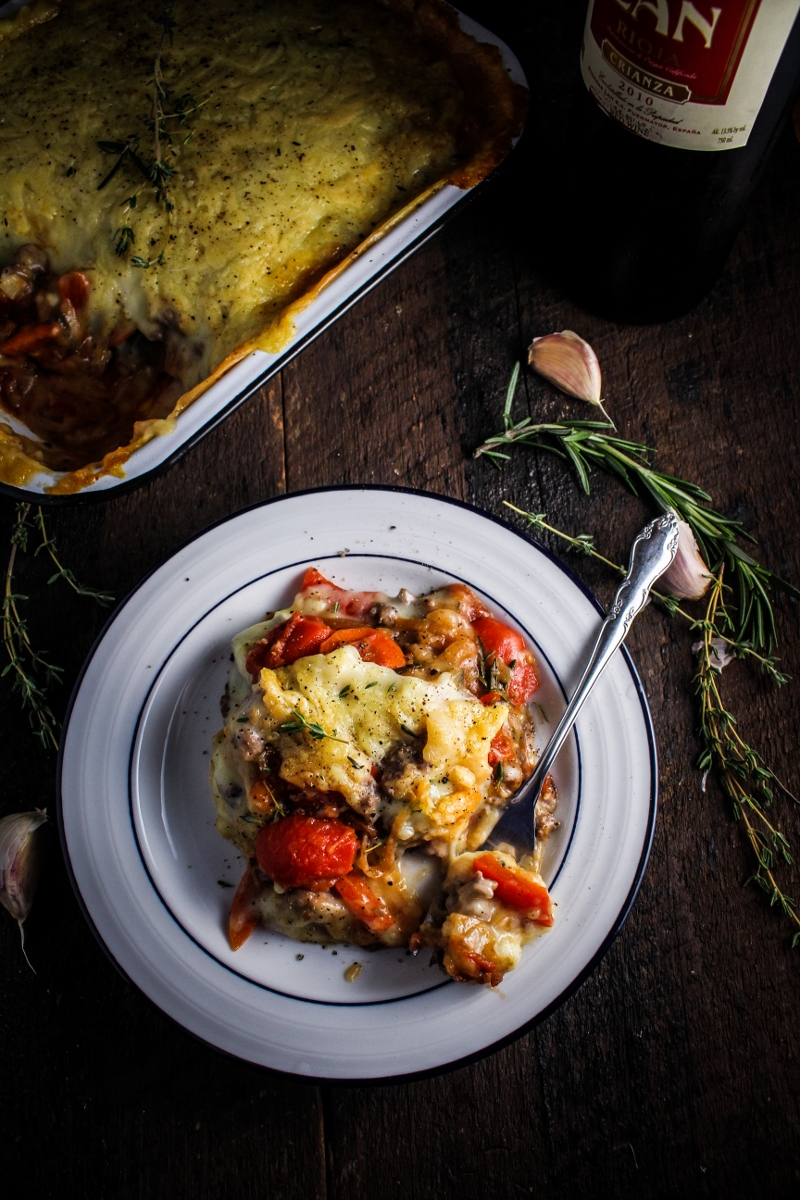 Book Club: French Comfort Food // Ratatouille Shepherd's Pie