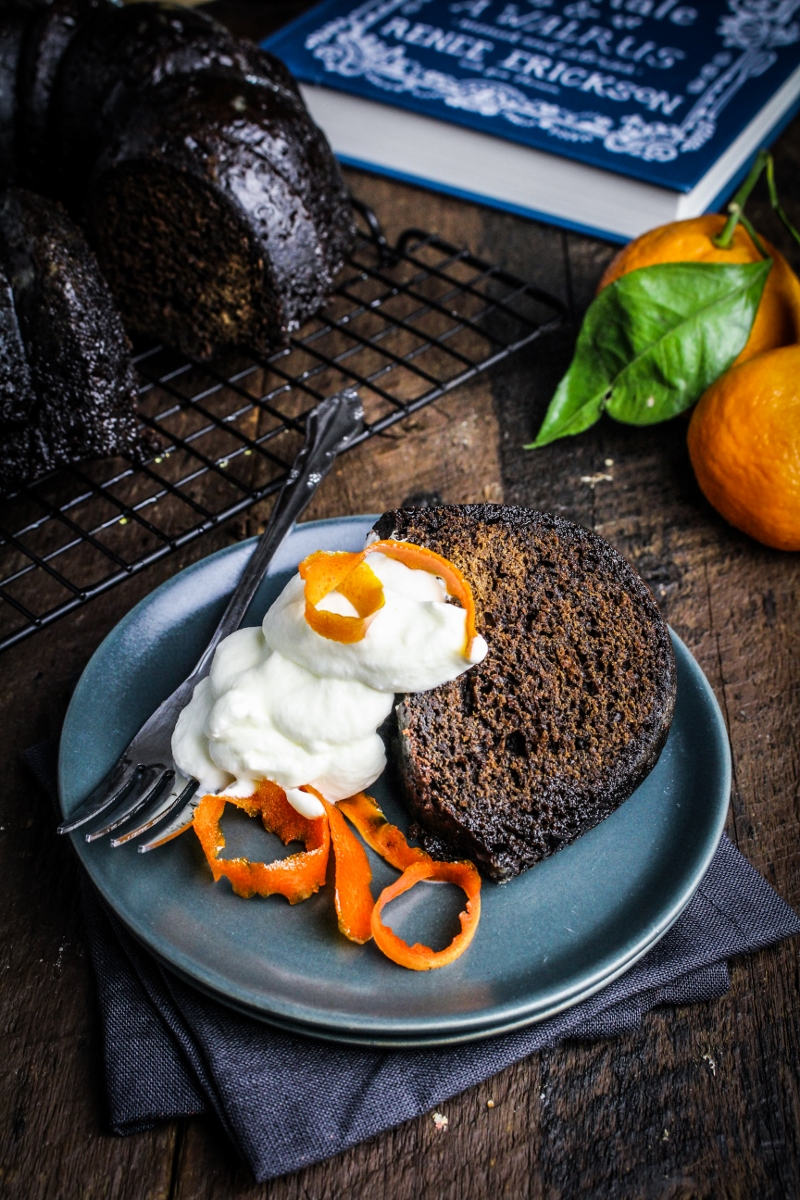 Book Club: A Boat, A Whale, & A Walrus // Molasses Spice Cake with Candied Orange Peel