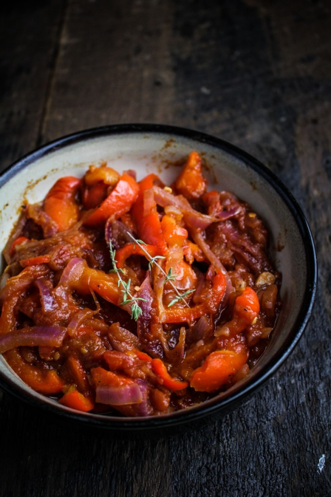 Peperonata {Katie at the Kitchen Door}