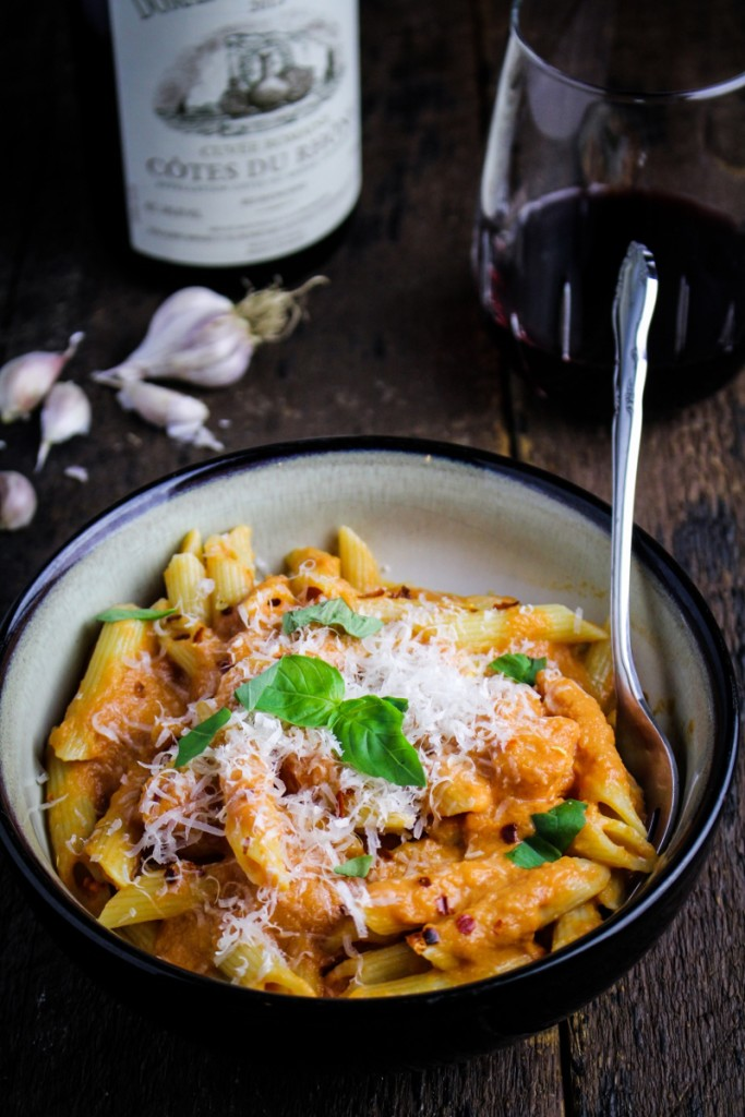 Penne Alla Vodka {Katie at the Kitchen Door}