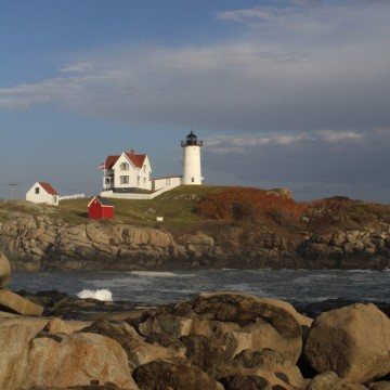Nubble Lighthouse, York, Maine {photo by Katie Morris}