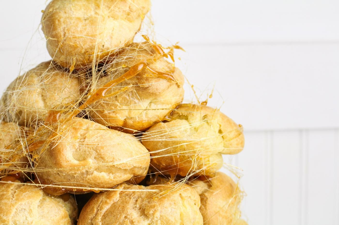 Peanut Butter Croquembouche {Katie at the Kitchen Door}