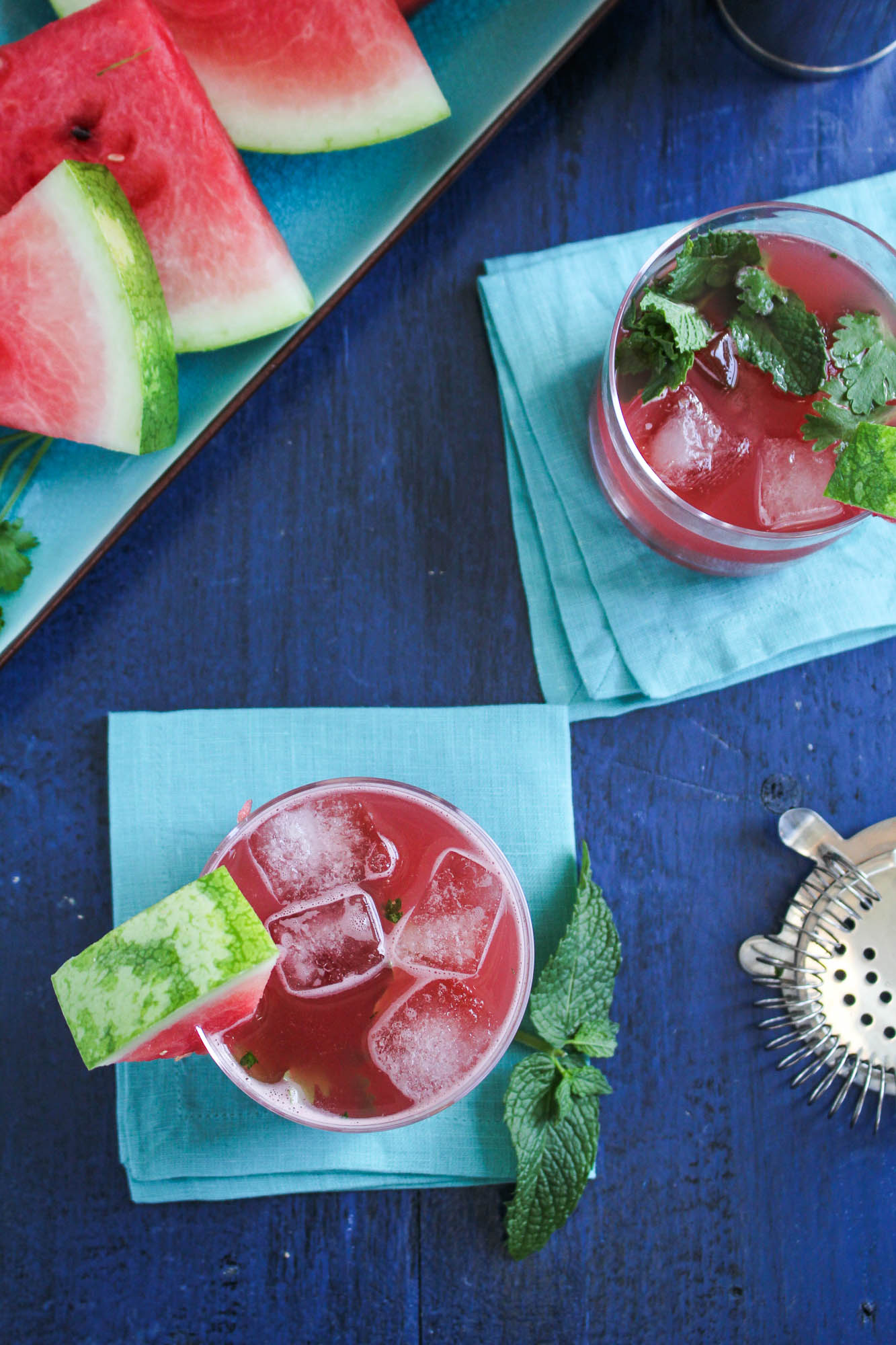 Watermelon Pisco Refresher {Katie at the Kitchen Door}