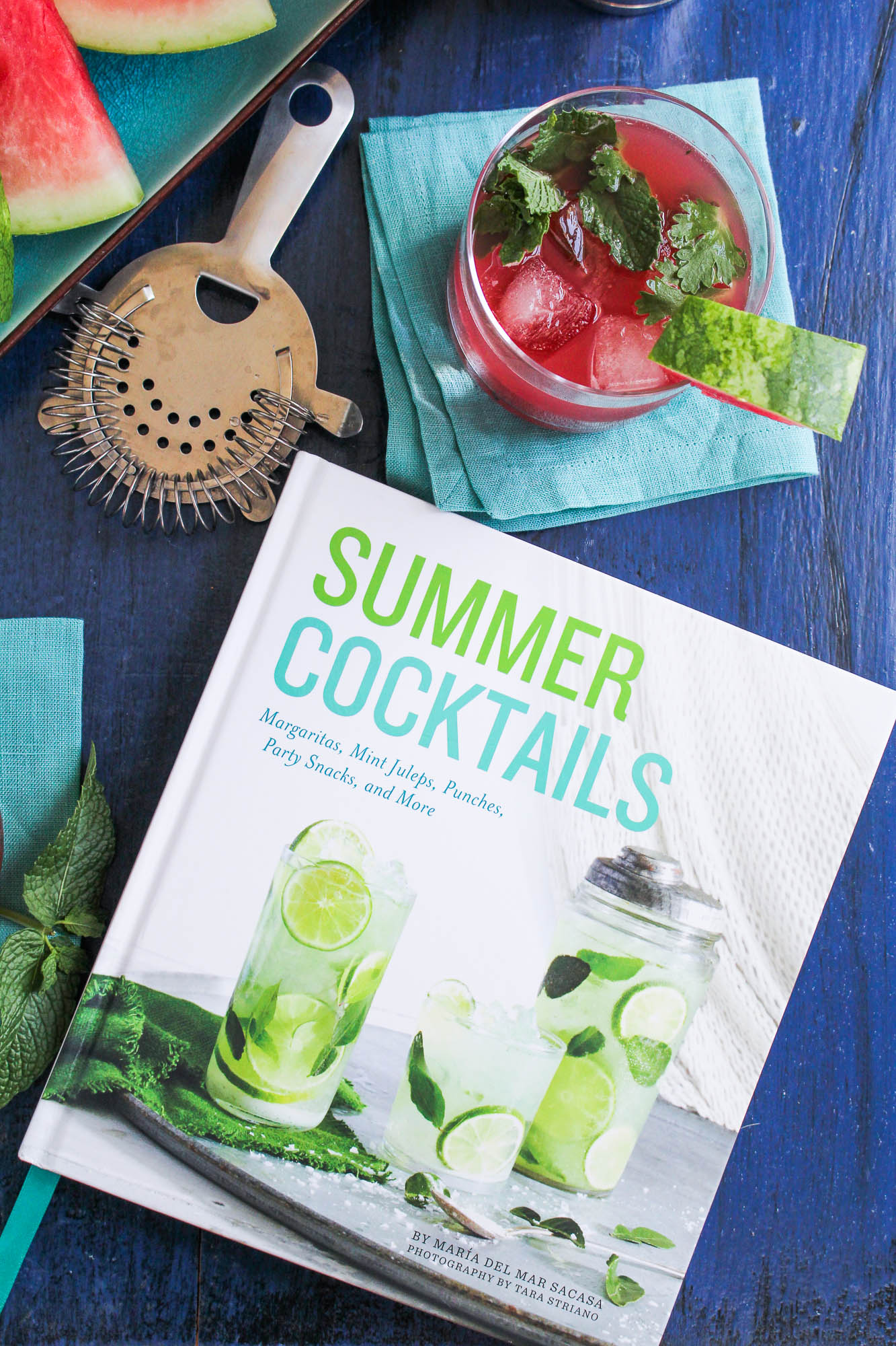 Summer Cocktails Cookbook Review {Katie at the Kitchen Door}