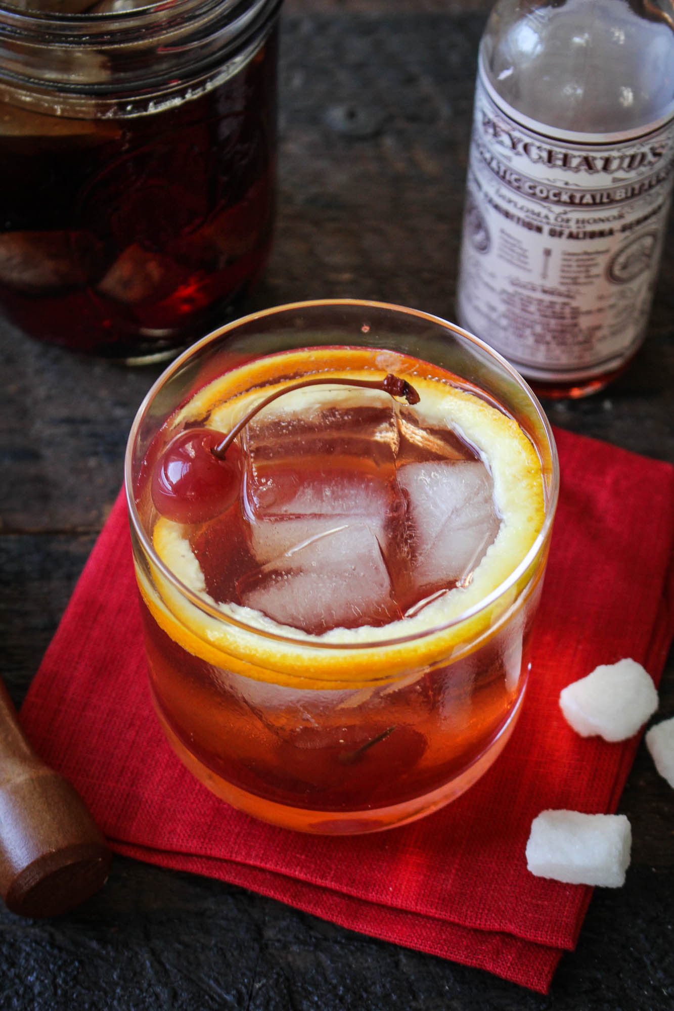 Welcome, September // Fig Bourbon Old-Fashioned