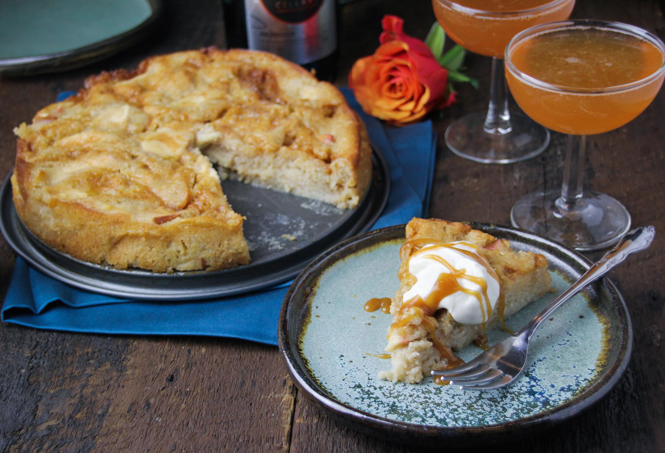 Salted Caramel Apple Cake {Katie at the Kitchen Door}