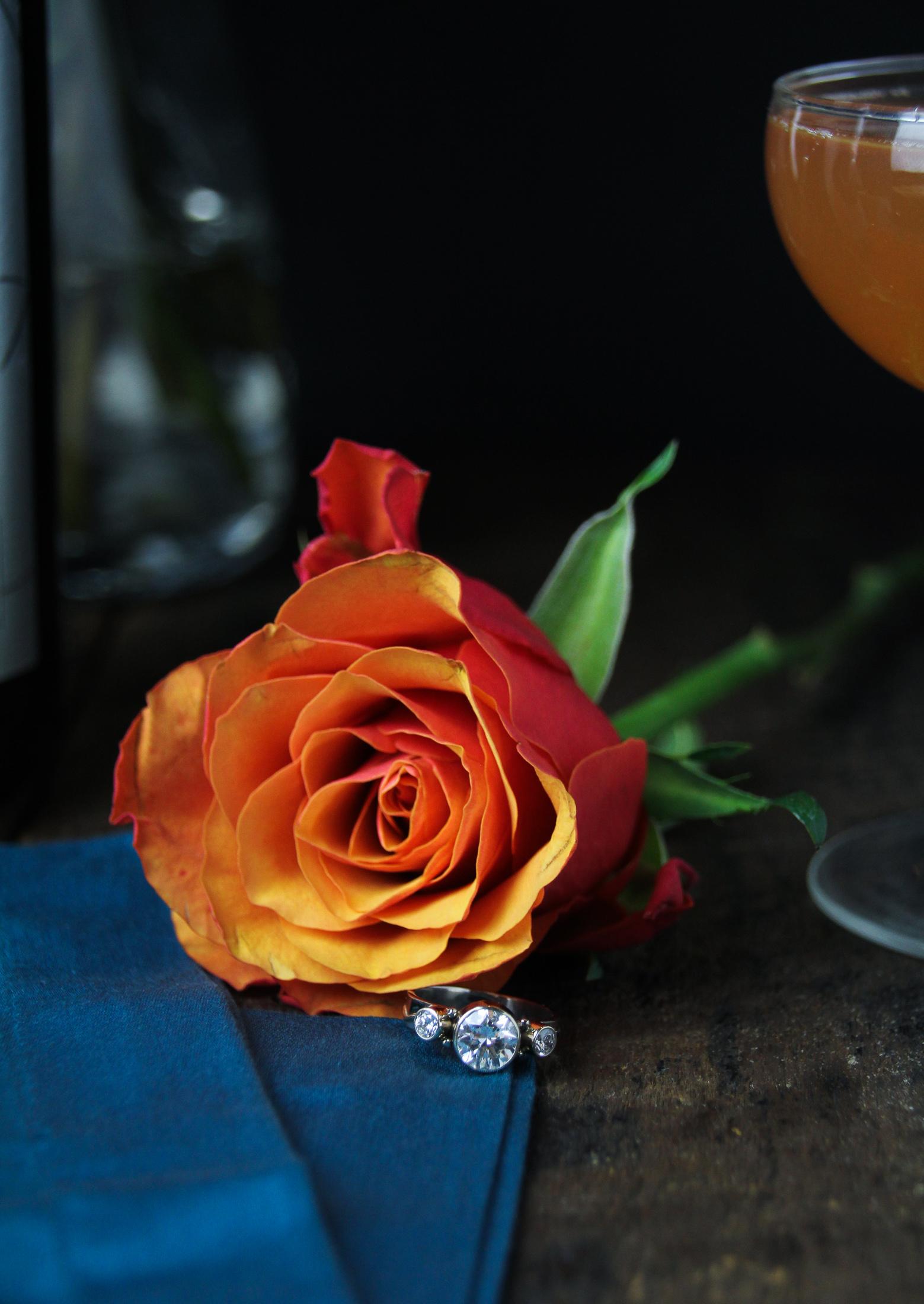 Engaged! {Katie at the Kitchen Door}