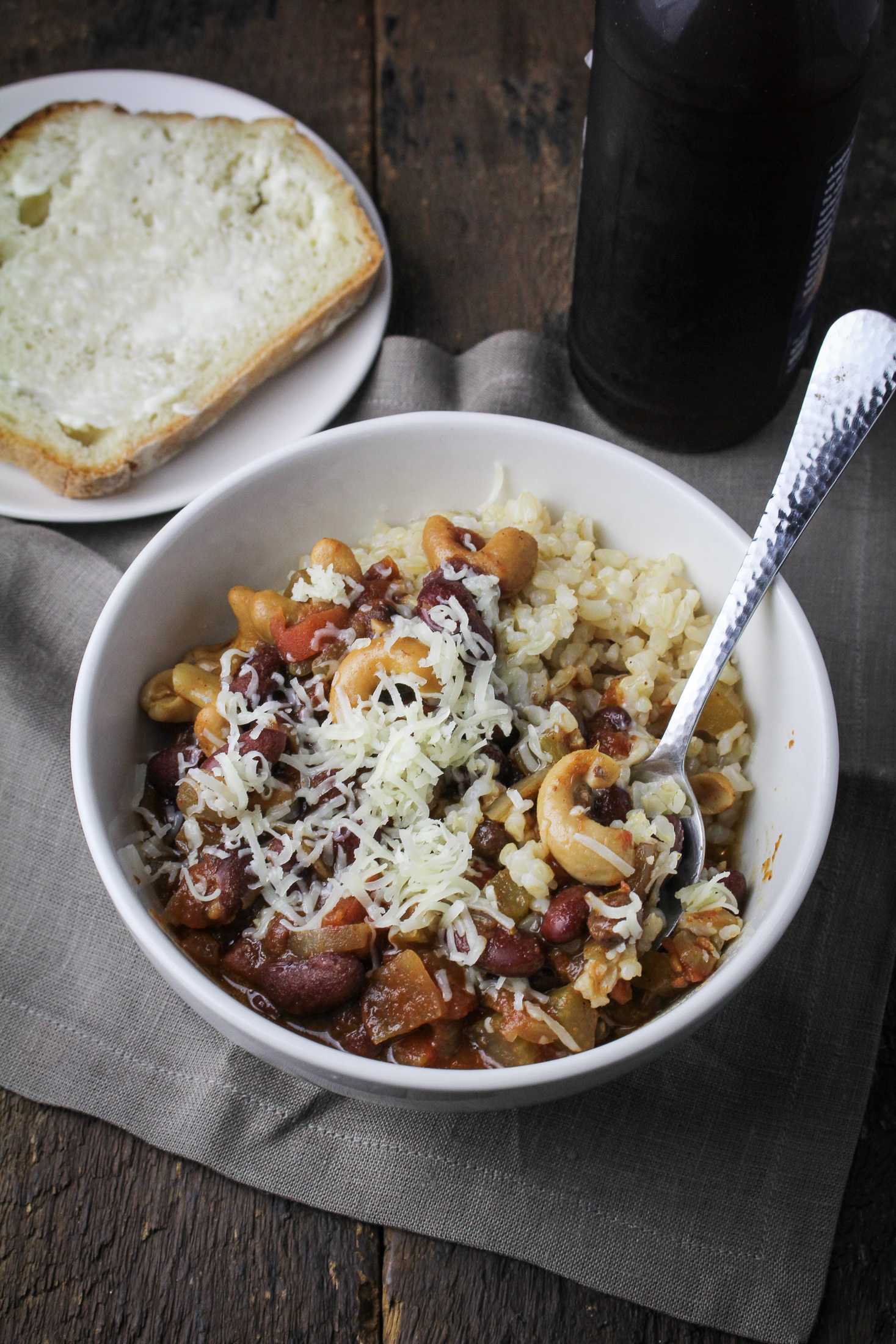 December Fitness Goals // Vegetarian Chili