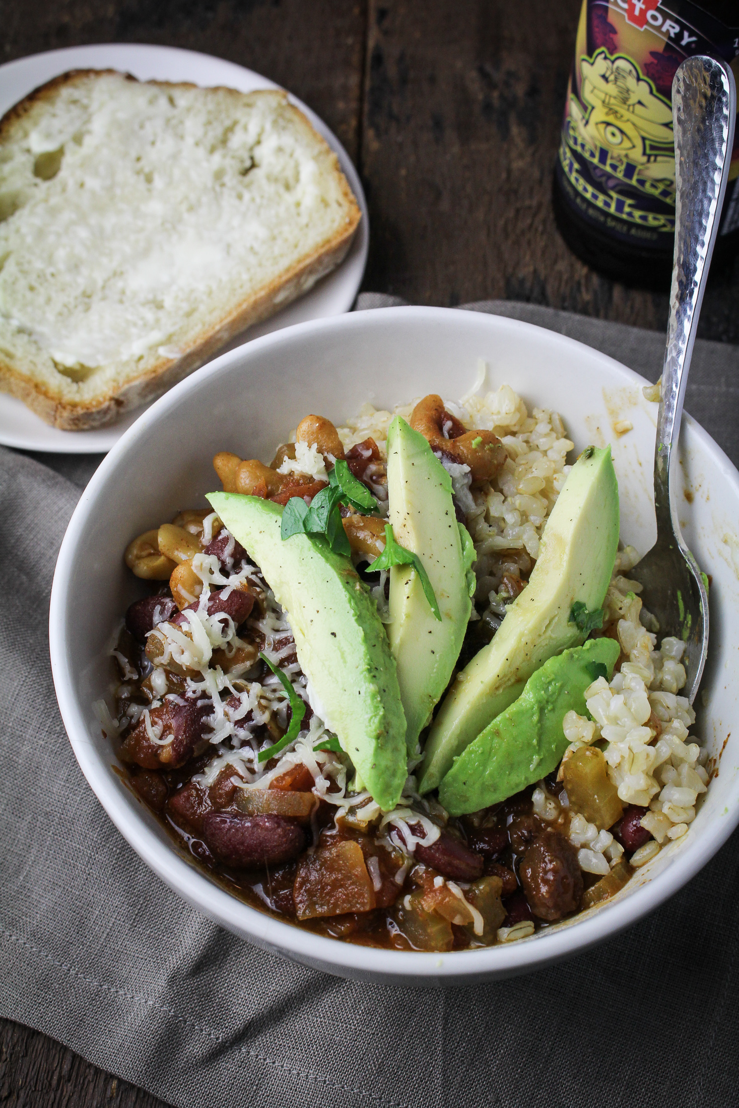 Vegetarian Chili {Katie at the Kitchen Door}