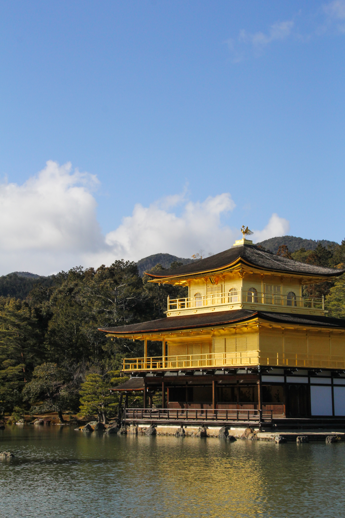 Kinkakuji Temple, Kyoto, Japan {Katie at the Kitchen Door} #japan #travelogue