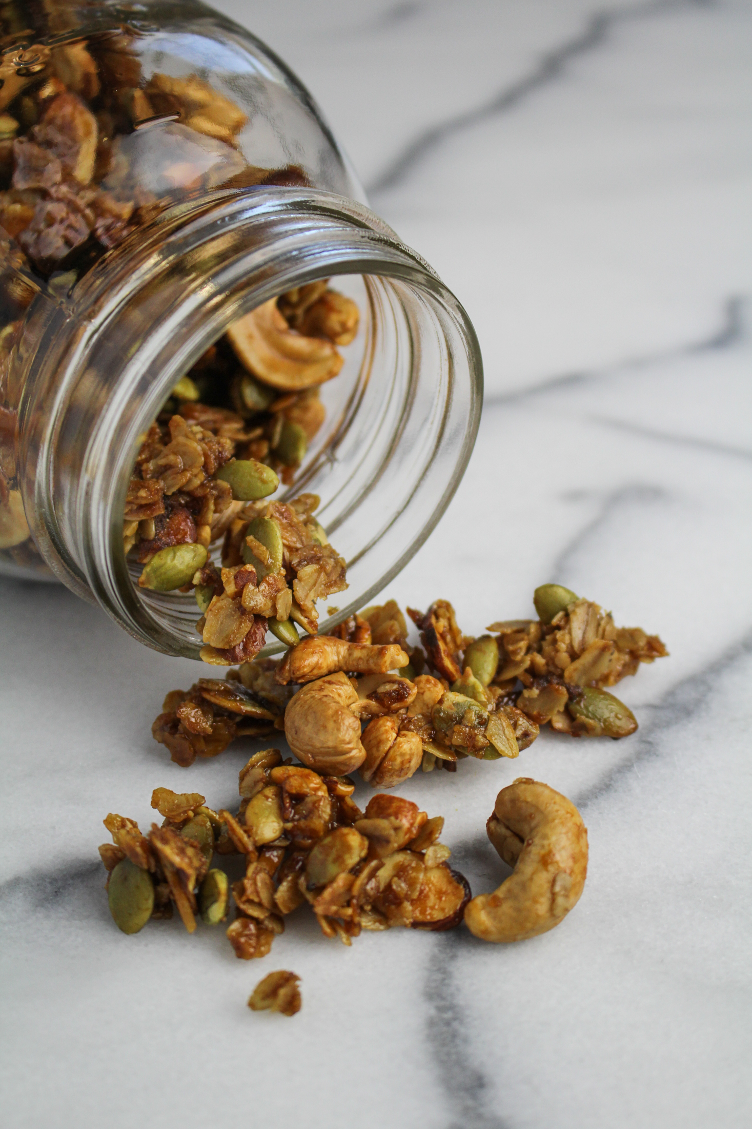 April Fitness Goal // Vanilla-Cashew Granola