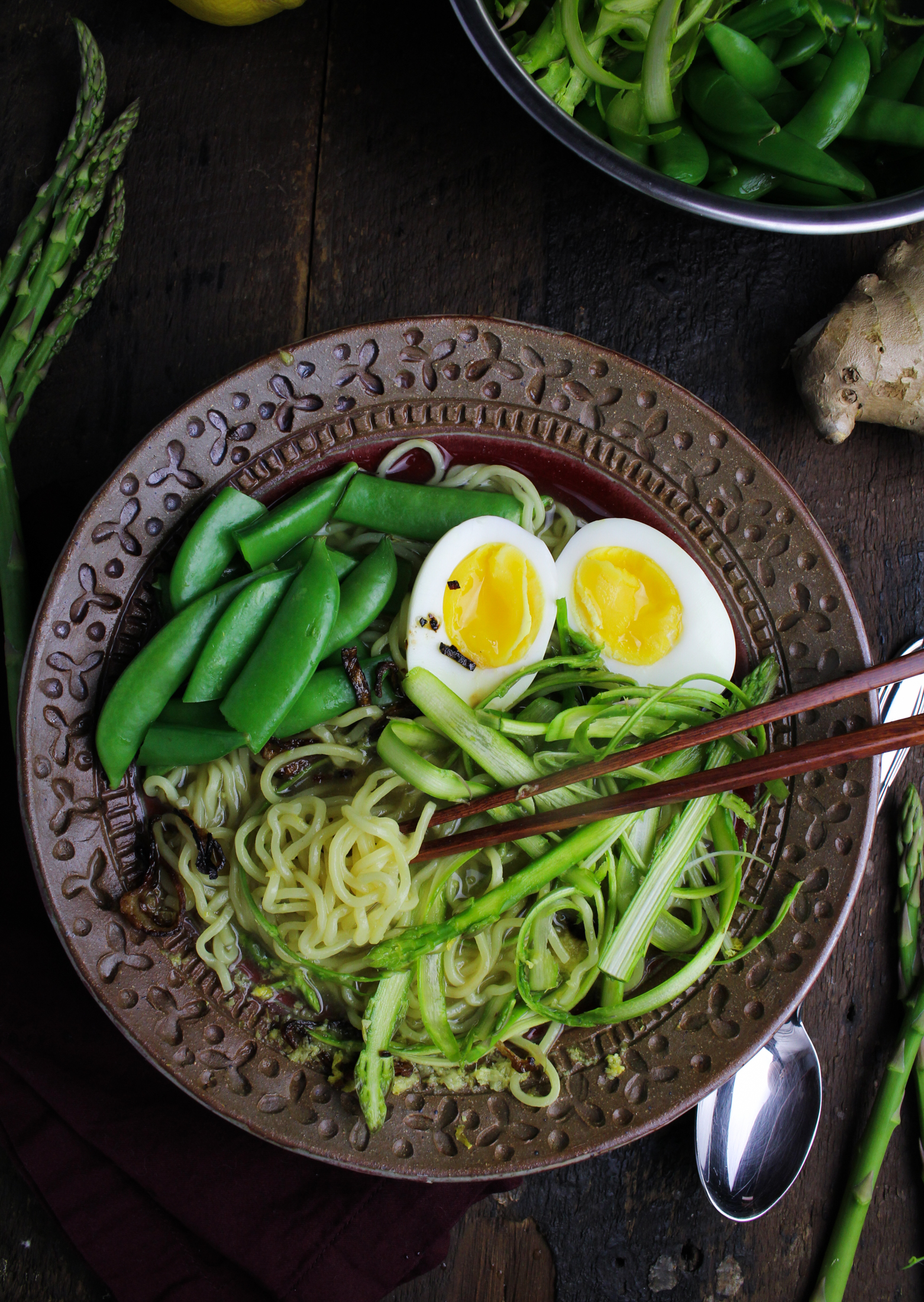 Book Club: Bowl Vegetarian Recipes for Ramen // Spring Ramen