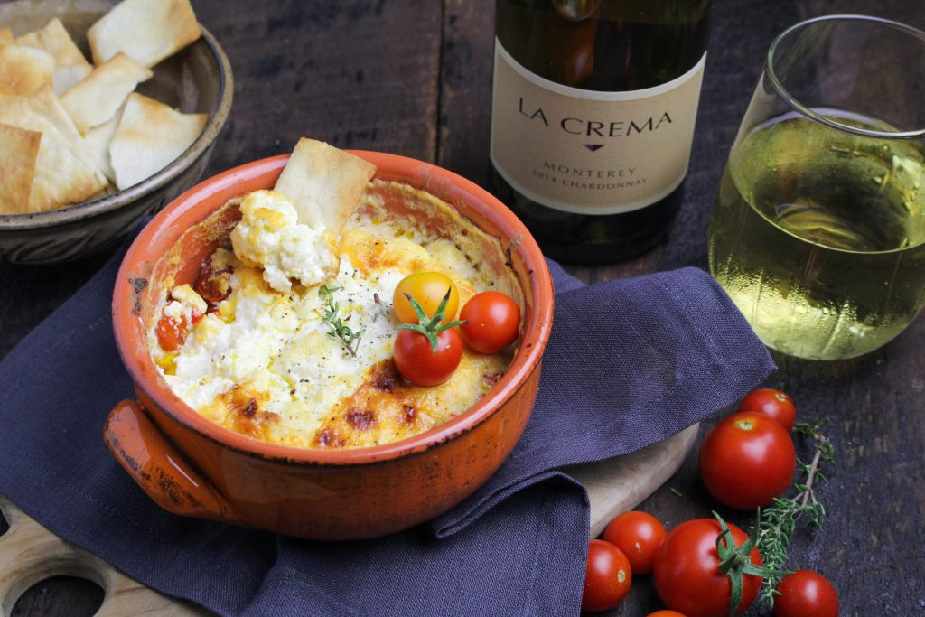 Roasted Tomato and Feta Dip {Katie at the Kitchen Door}