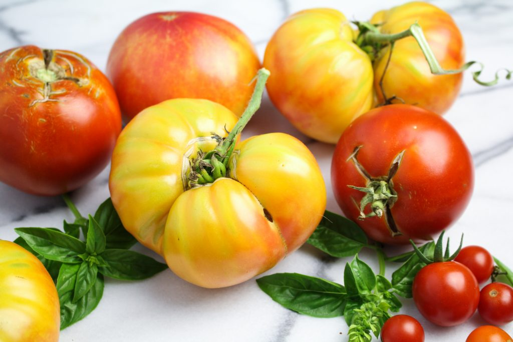 Heirloom Tomatoes {Katie at the Kitchen Door}