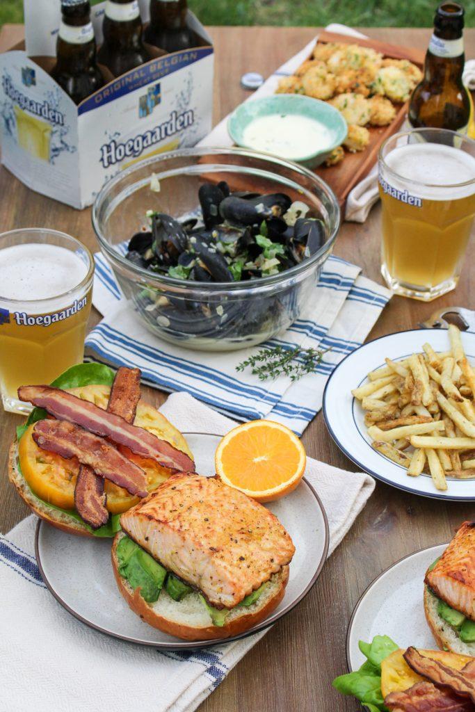 Hoegaarden Seafood Feast #itsWHOgaarden #sponsored